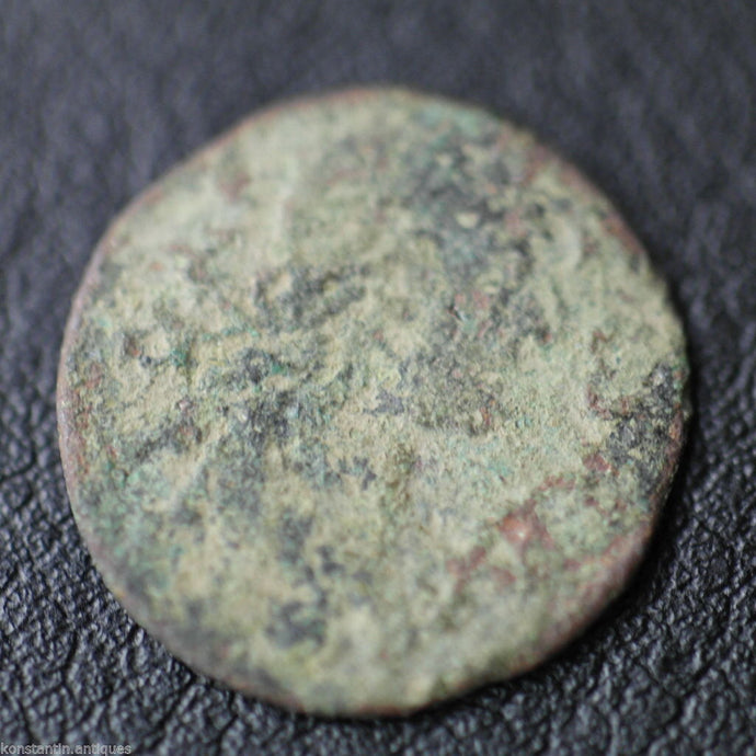 Antique 1665 coin 1 shilling John II Casimir Vasa Grand Duchy of Lithuania 17thC