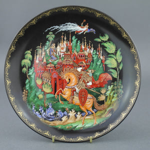 Wall Decor Russian Tales - Ruslan and Ludmilla - Plate Vinogradov Porcelain