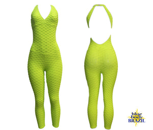 Citrus Lime Bodysuit (Scrunchy Supplex)