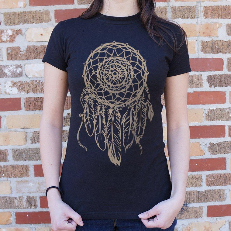 Dream Catcher T-Shirt (Ladies) CoolHatcher at TheArtOfLiving.Earth