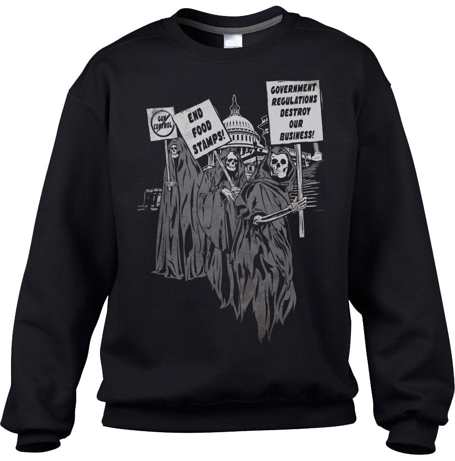 Unisex Deadly Agenda Sweatshirt - By Ex-Boyfriend