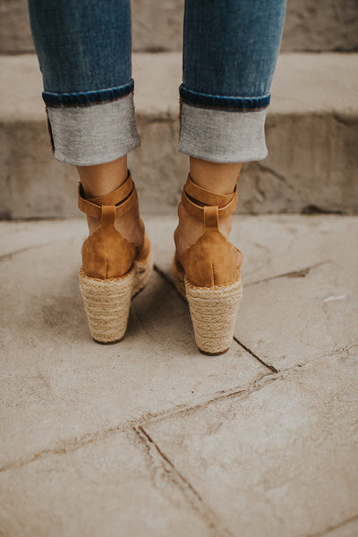 Jade Espadrille in Tan