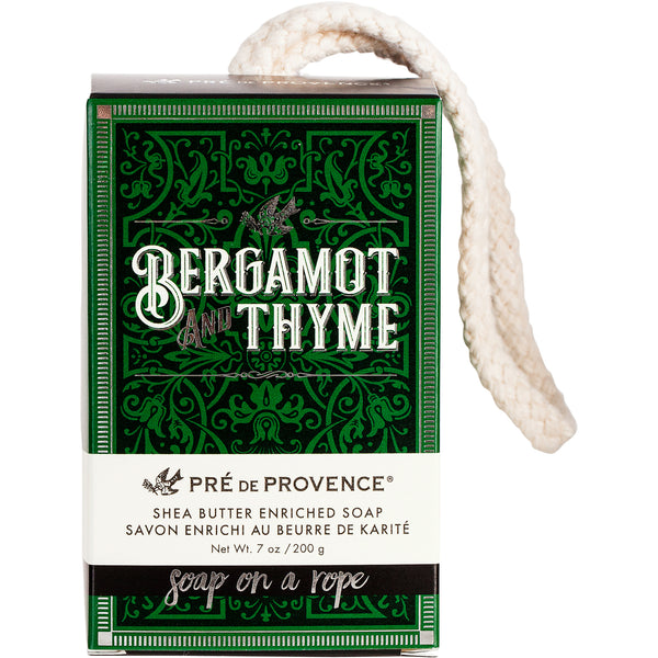 Soap On A Rope 200G - Bergamot & Thyme