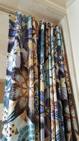 Luxury Shower Curtain, Missoni Olga Fabric