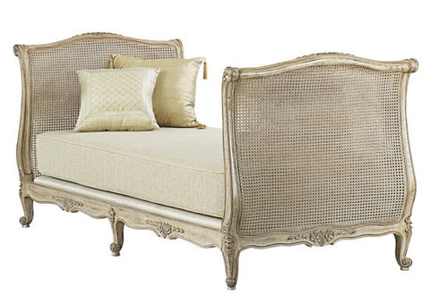 French Rattan Daybed