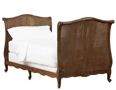 French Rattan Daybed I