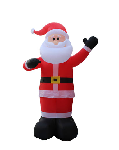 14 Foot Christmas Inflatable Santa Claus