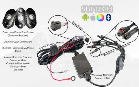 Image of  RGB Multi-color Rock Light, LED, SuiTech, SUITECH - SUITECH