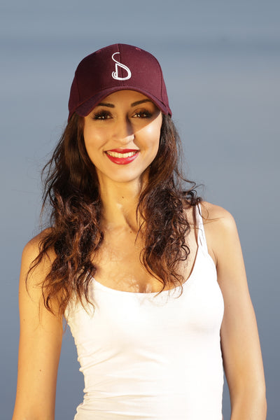 BURGUNDY CAP WOMAN - MADE IN FRANCE