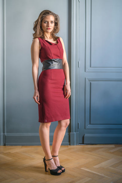 CITY LINE DRESS - MADE IN FRANCE -  WITH INTEGRATED SENSOR