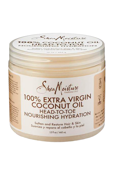 Shea Moisture - 100% EXTRA VIRGIN COCONUT OIL (15 OZ) HEAD TO TOE NOURISHING HYDRATION