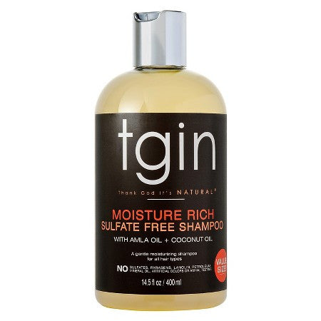 TGIN -- Moisture Rich Sulfate Free Shampoo with Amla & Coconut Oil