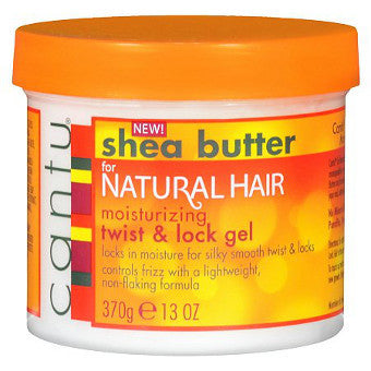 Cantu Shea Butter - For Natural Hair - Moisturizing Twist & Lock Gel