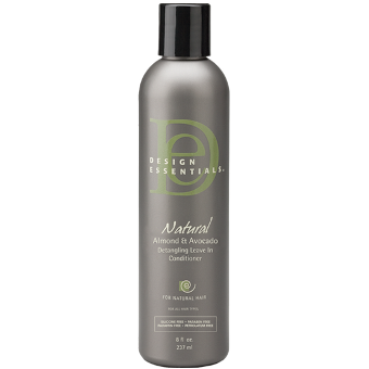 Design Essentials - Natural Almond and Avocado Detangling Leave-In Conditioner