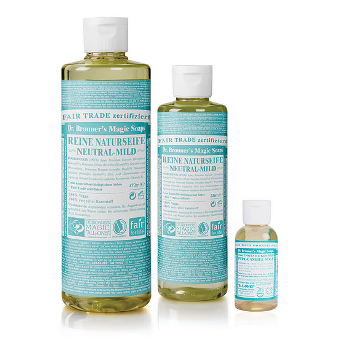 Dr. Bronner's - 18-IN-1 - HEMP UNSCENTED BABY-MILD  - Pure-Castile Soap