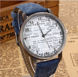 Vintage Retro Casual Women Wristwatch