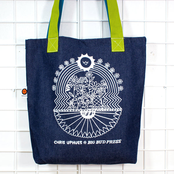 One-of-a-Kind Denim Tote Bag