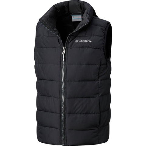 Columbia Kids Powder Lite Puffer Vest when the temp dips -Shop Bennetts Clothing and receive same day shipping.