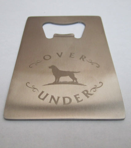 Over Under Credit Card Bottle Opener - Bennett's Clothing