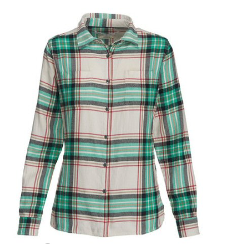 Woolrich Women's Pemberton Flannel Shirt-Wine Check