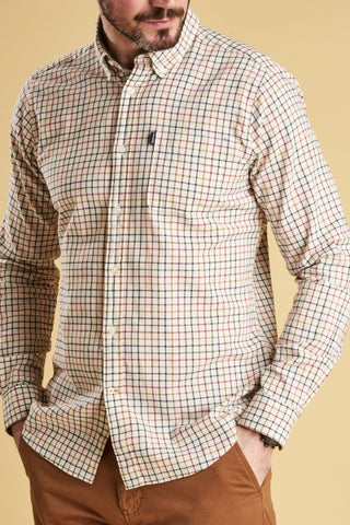 Barbour Mens Endsleigh Tattersall Sport Shirt -Shop Bennetts Clothing for a large selection of outdoors menswear.
