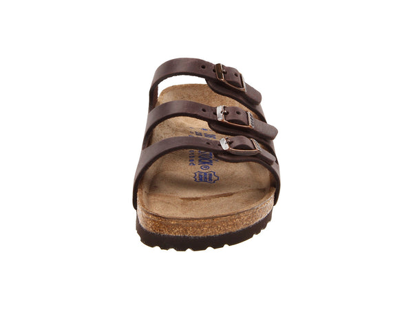 Birkenstock Women's Florida Soft Footbed Sandal-Habana Waxy Leather - Bennett's Clothing - 5