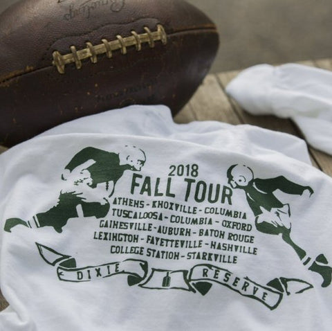 Dixie Reserve Gridiron Football Tee -Shop Bennetts Clothing for the latest and best in name brand clothing