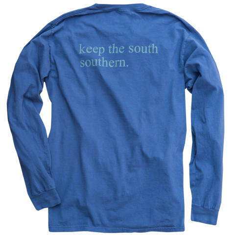 Dixie Reserve Keep The South Southern Tee-Navy