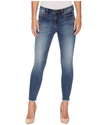 Kut from the Kloth Connie Ankle Skinny Jean-Guileless Wash
