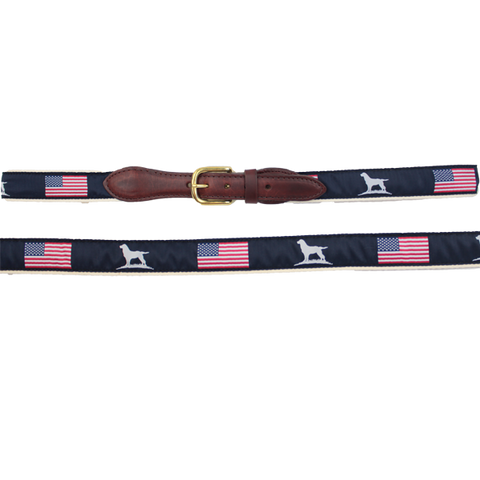 Over Under Men's Patriot Ribbon Belt
