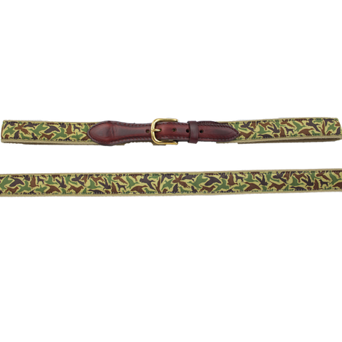 Over Under Men's Old School Camo Ribbon Belt