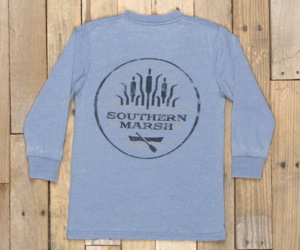 Southern Marsh Youth Seawash Paddle Long Sleeve T-shirt -Shop Bennetts Clothing where you find the best brands and same day shipping.