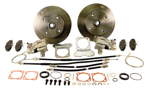 VW Rear Disc Brake Kit w/ E-Brake, 4 Lug 4X130 Empi 22-2871