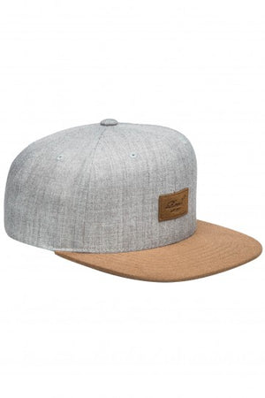 Reell Suede 6-Panel Cap, Farbe: light heather grey