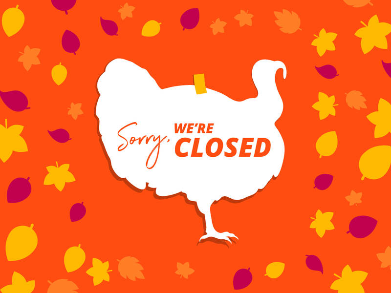 Thanksgiving Holiday Store Hours