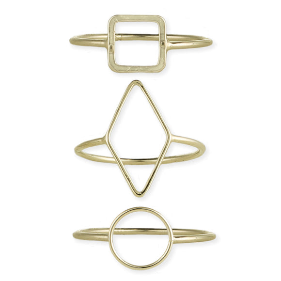 Less Is More Minimalist Rings - Secret Lives...