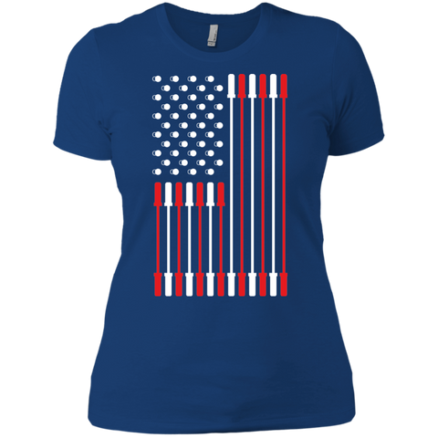 Barbell Flag Women's T-Shirt