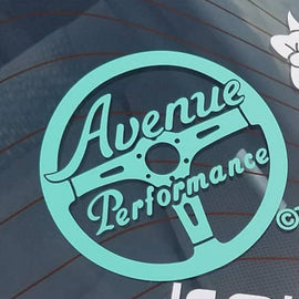 AVENUE PERFORMANCE STEERING WHEEL LOGO STICKER (MINTY)