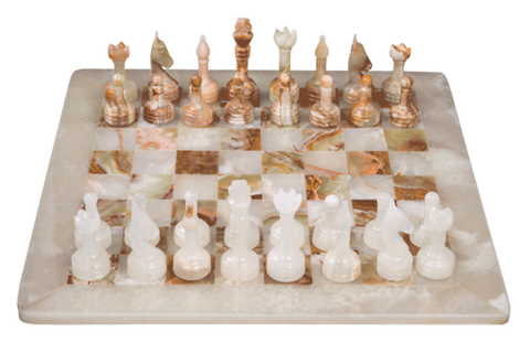 Chess Set- Onyx Chess - Marble Products International