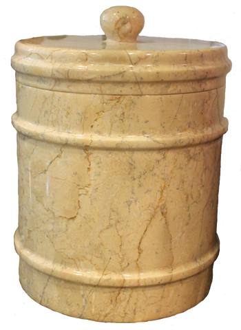 Cameo Canister - Marble Products International