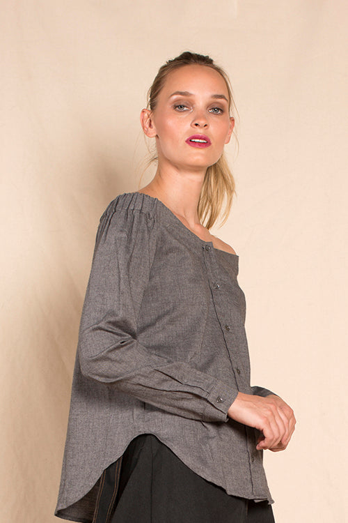 Julisa Shirt in Granite