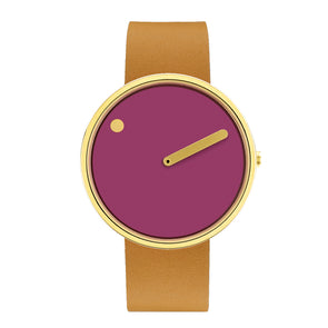 PICTO 40mm Watch | Leather Band