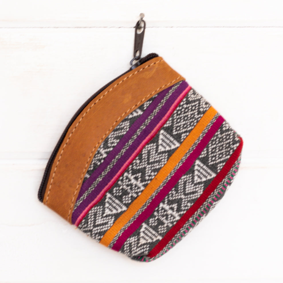 Artisanal Travel Coin Pouch - 010