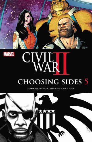Civil War II Choosing Sides #5(of 6) - Comics n Pop