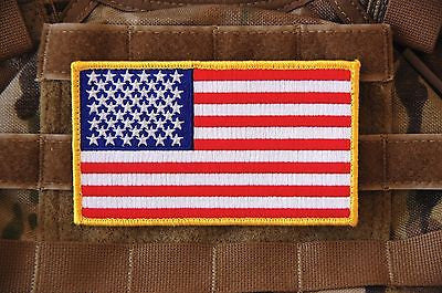 NWU Type III Reverse US Flag & First Navy Jack Uniform Patch Set