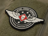 Level Zero Heroes Wings PVC Patch