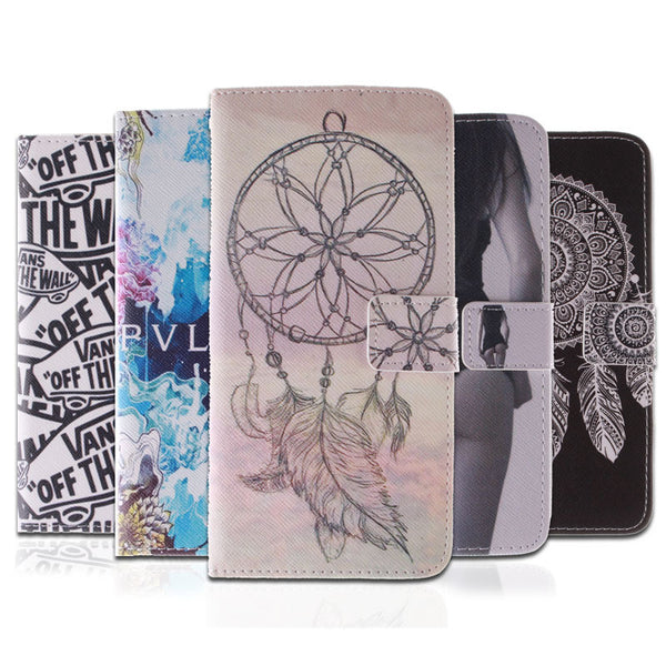 10 Fashion Patterns Flip Case for Samsung Galaxy A5 2016 PU Leather + Silicon Wallet Cover for Samsung A5 A510 Case Coque