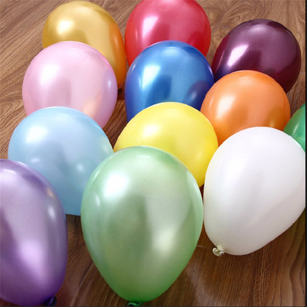 100Pcs Lot 10 Inch 1.8g Inflatable Latex Balloons Toys Wedding Birthday Party Air Balloons Ballon Decoration Baloon Classic Toys