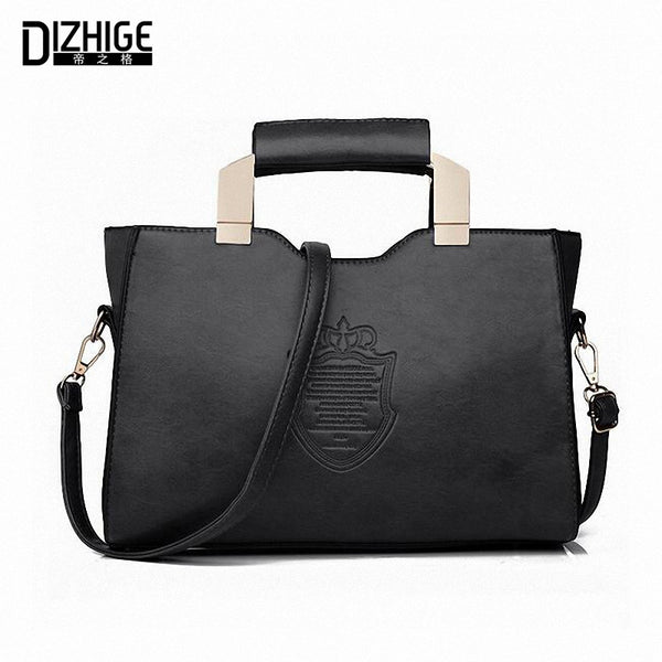 Dizhige Solid Pu Handbags Women Wt112