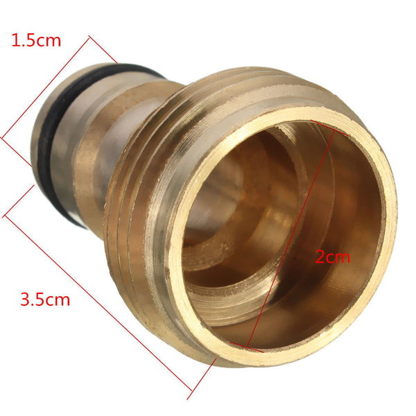 2016 Hot Tap Brass Garden Hose Pipe Tube Quick Connector Watering Equipment Spray Nozzle